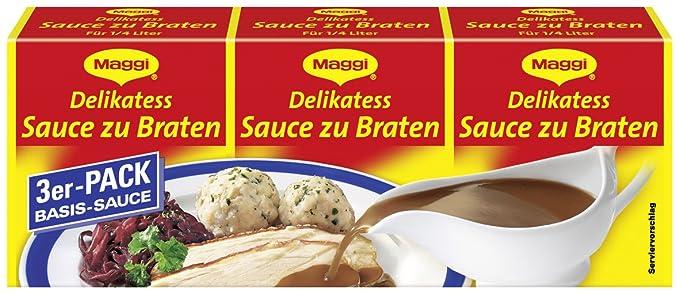 Maggi delikatess salsas asados, 14 Pack (14 x 750 ml de cartón)
