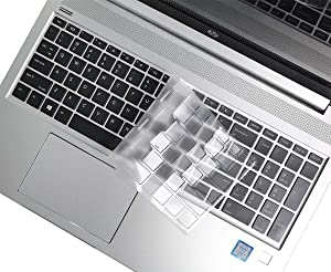 "Ultra Thin Clear Keyboard Cover for 2020 2019 HP ProBook 450 G5/ ProBook 455 G6 15.6""/ HP ProBook 450 G5 15.6""/ HP Probook 650 G4 15.6""/ HP ProBook 470 G5 17.3"" Keyboard Protector Skin (US Layout)"