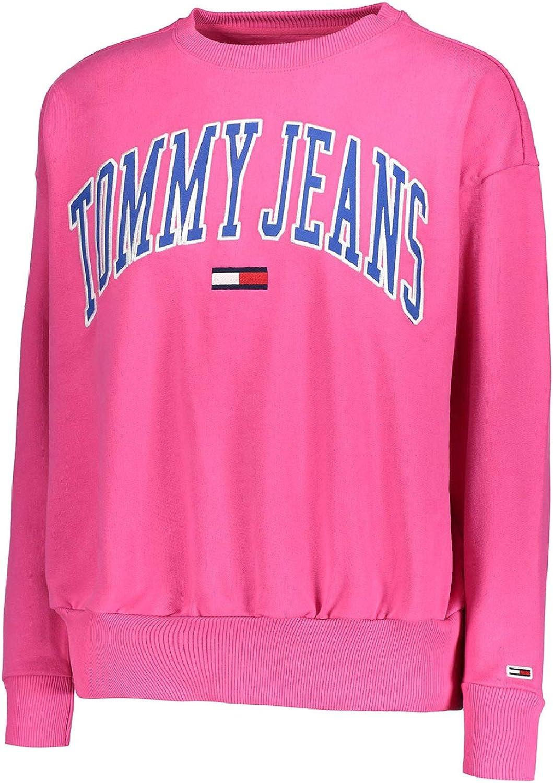 Tommy Jeans Felpa Donna Fucsia Purple