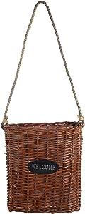 A&B Home Wicker Basket, Large