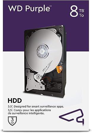 Wd Purple 8 Tb Überwachung 3 5 Zoll Interne Festplatte Computer Zubehör