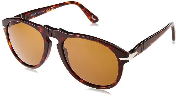 Persol - Gafas de sol Aviador Mod. 0649 Sole, 24/33