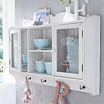 Garderobenschränkchen Weiß Wandschrank Hängeschrank Küchenschrank