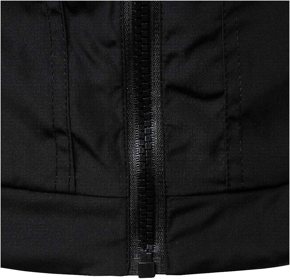 VANVENE Outdoor Mens Contrast Color Autumn Jackets Spring Casual Printing Coats