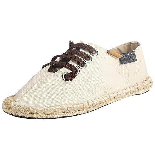 Kennti Alpargatas de Cordones y Chambray Hombre: Amazon.es: Zapatos y complementos