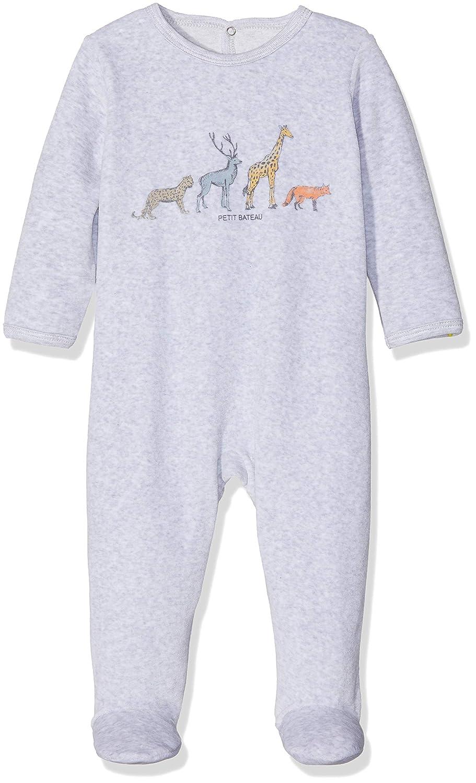 Petit Bateau Baby - Jungen Schlafstrampler 43661