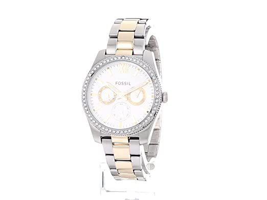 Amazon.com: Scarlette Multifunction Two-Tone Stainless Steel Watch: Watches