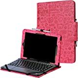 RCA 11 Maven Pro case, i-UniK CASE for RCA 11 Maven Pro 11.6 Inch (RCT6213W87DK) Detachable Touchscreen 2 in 1 Tablet PC [Bonus Stylus] - (Cute Pink)