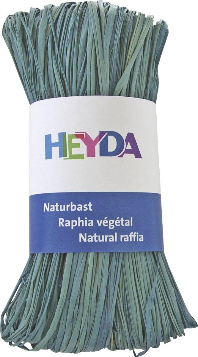 Heyda 204887786Rafia Naturale, Pastellblau Baier & Schneider