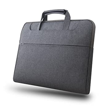"""15.6/"""" Laptop Computer Sleeve Case Bag w Hidden Handle /& Shoulder Strap 3138"""