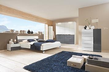 Dreams4Home Schlafzimmerkombination \'Kyra\', Schrank, Bett, 2 x ...