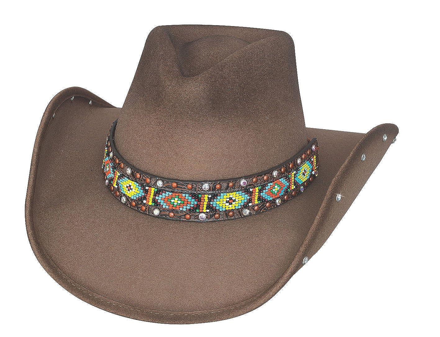 718b0aac0 Bullhide Women's Hats Bad Axe River Wool Felt Cowboy Hat - 0732S at ...