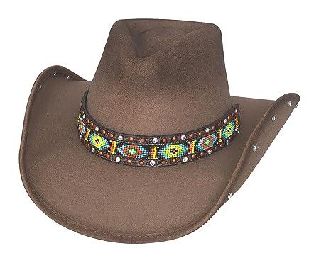 Bullhide Women s Hats Bad Axe River Wool Felt Cowboy Hat - 0732S at ... 33515e67518