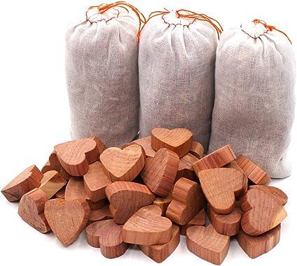 pour Stockage QUARED 54 Pcs de Boules en Bois de C/èdre Anti Mites Armoires Protections de Mites Naturelles 100/% pour Armoires en C/èdre Protection Anti-Mites de V/êtements