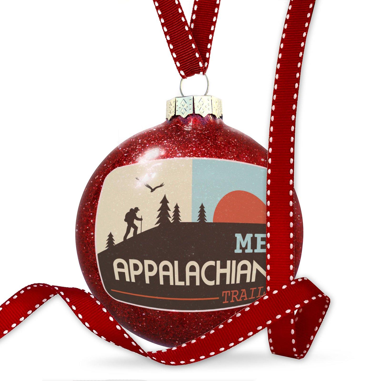 Christmas Decoration US Hiking Trails Appalachian Trail - Maine Ornament