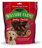 Hillside Farms Chicken And Sweet Potato Premium Dog Treats, Jerky Twists, 32-Ounce