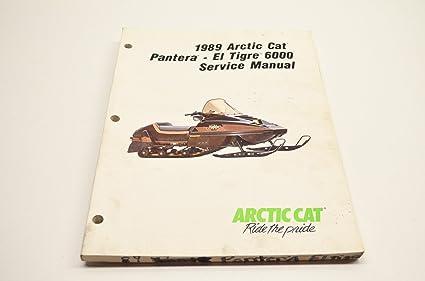 Amazon com: Arctic Cat Factory Service Manual / 1989 El