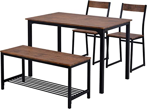Deal of the week: Strackvial Dining Room Table Set Can Accommodate 4 People Computer Table