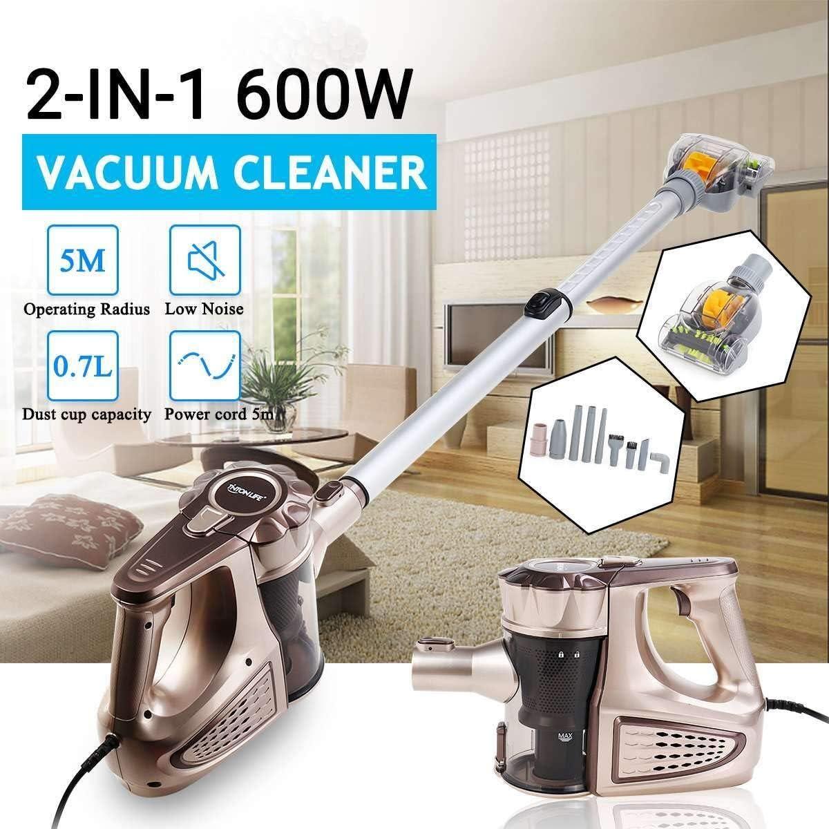 Aspiradora inalámbrica 220V con cable de mano 2 en 1 for Casa aspirador de carga Ciclón Filtro alfombra barrido de eliminación de polvo ácaros 3.5m cable de alimentación Aspiradora (Plug Type :