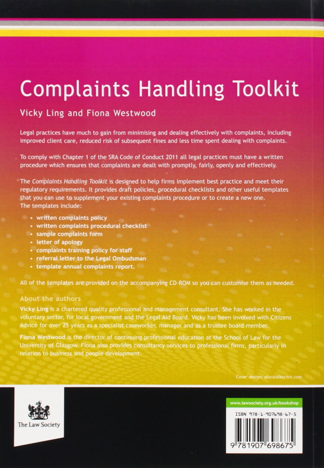 Complaints handling toolkit risk and compliance service vicky ling complaints handling toolkit risk and compliance service vicky ling fiona westwood 9781907698675 amazon books spiritdancerdesigns Image collections