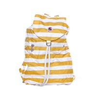 Invicta Mini Sac Next Nylon Backpack with Stripes (Blue, Pink, Red, Yellow)