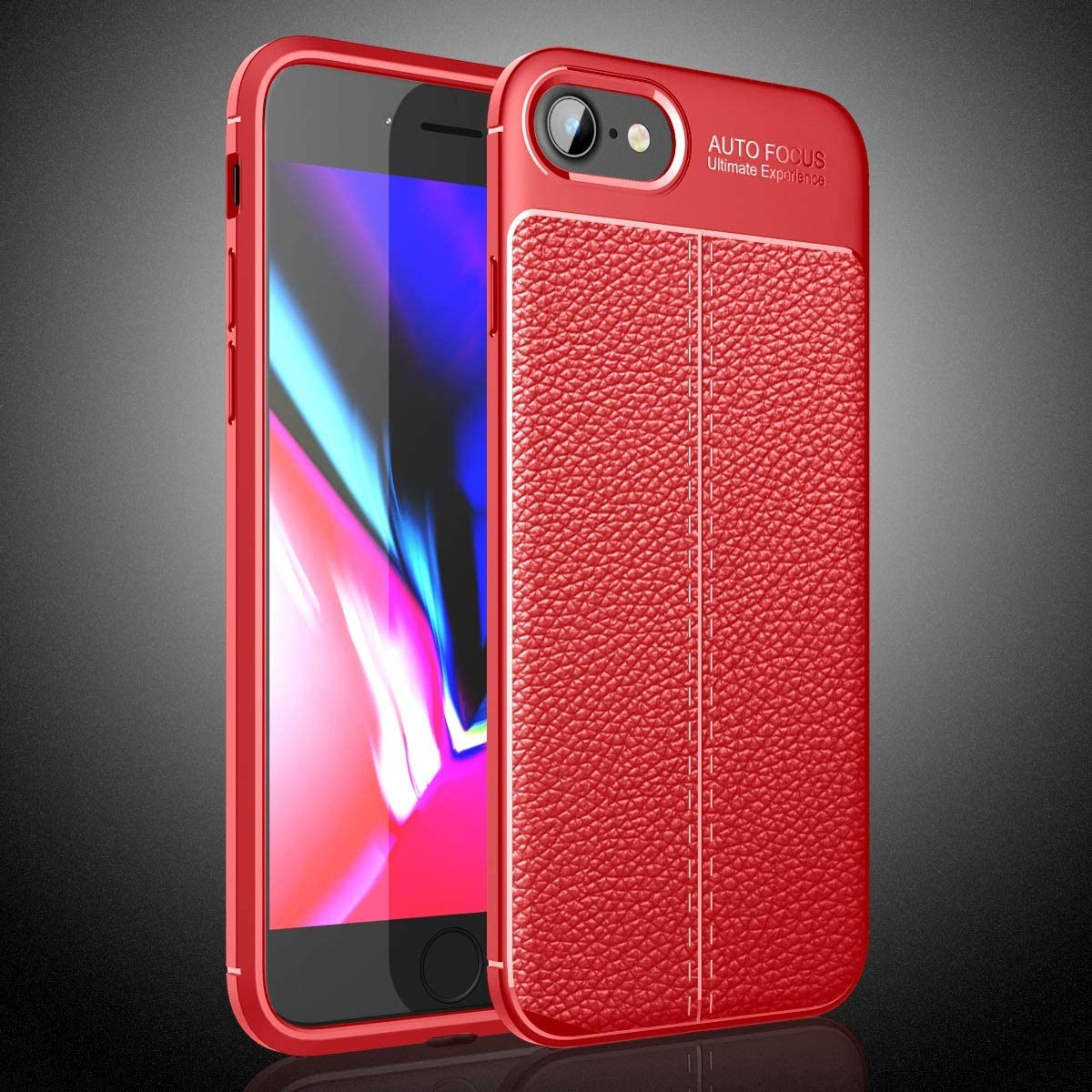 Smartphone Protective Clips For iPhone SE Case(Nonporous), for iPhone 7 Case, for iPhone 8 Case,Shockproof High Impact Tough Rubber Rugged Hybrid Case Protective Anti-Shock Shatter-Resistant Mobile Ph