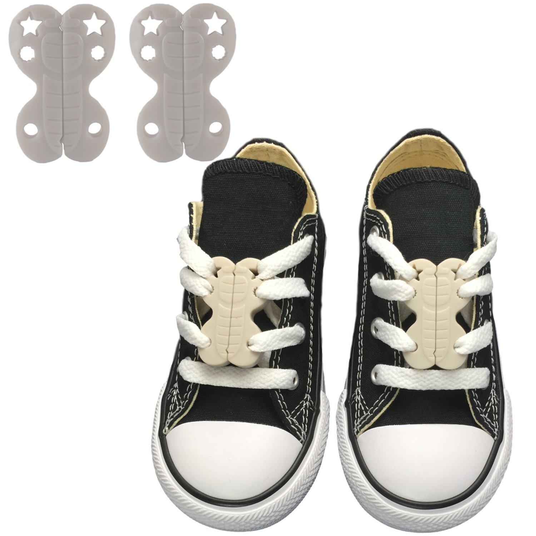 0805d1cbe33c Zoomies magnetic shoe closures no tie shoelaces jpg 1500x1500 Magnetic shoe  clips