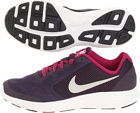 Nike 819416-500, Zapatillas de Trail Running para Niñas, Morado (Purple Dynasty/Metallic Silver), 35.5 EU: Amazon.es: Zapatos y complementos