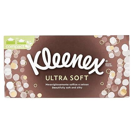 Kleenex - Pañuelos de papel - Ultrasuaves - Caja de 80 unidades 1 caja 1 Pacco