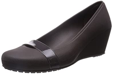 Crocs Brynn Wedge Damen Espresso 41.5