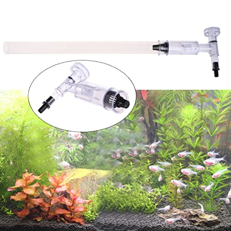 Dabixx Kit de filtros de limpieza de arena para acuario de acuario