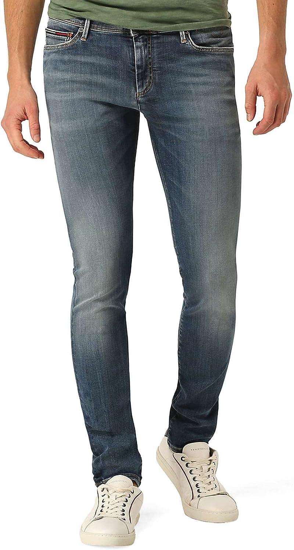 TALLA W38/L32 (Talla del fabricañote: 3238). Tommy Jeans Hombre SKINNY SIMON DYTMST Vaqueros  skinny