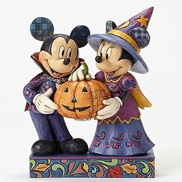 jim shore mickey minnie halloween figurine - Mickey Minnie Halloween
