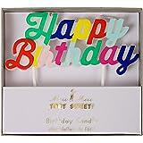 Meri Meri 45-2099 Multi Happy Birthday Candle Novelty