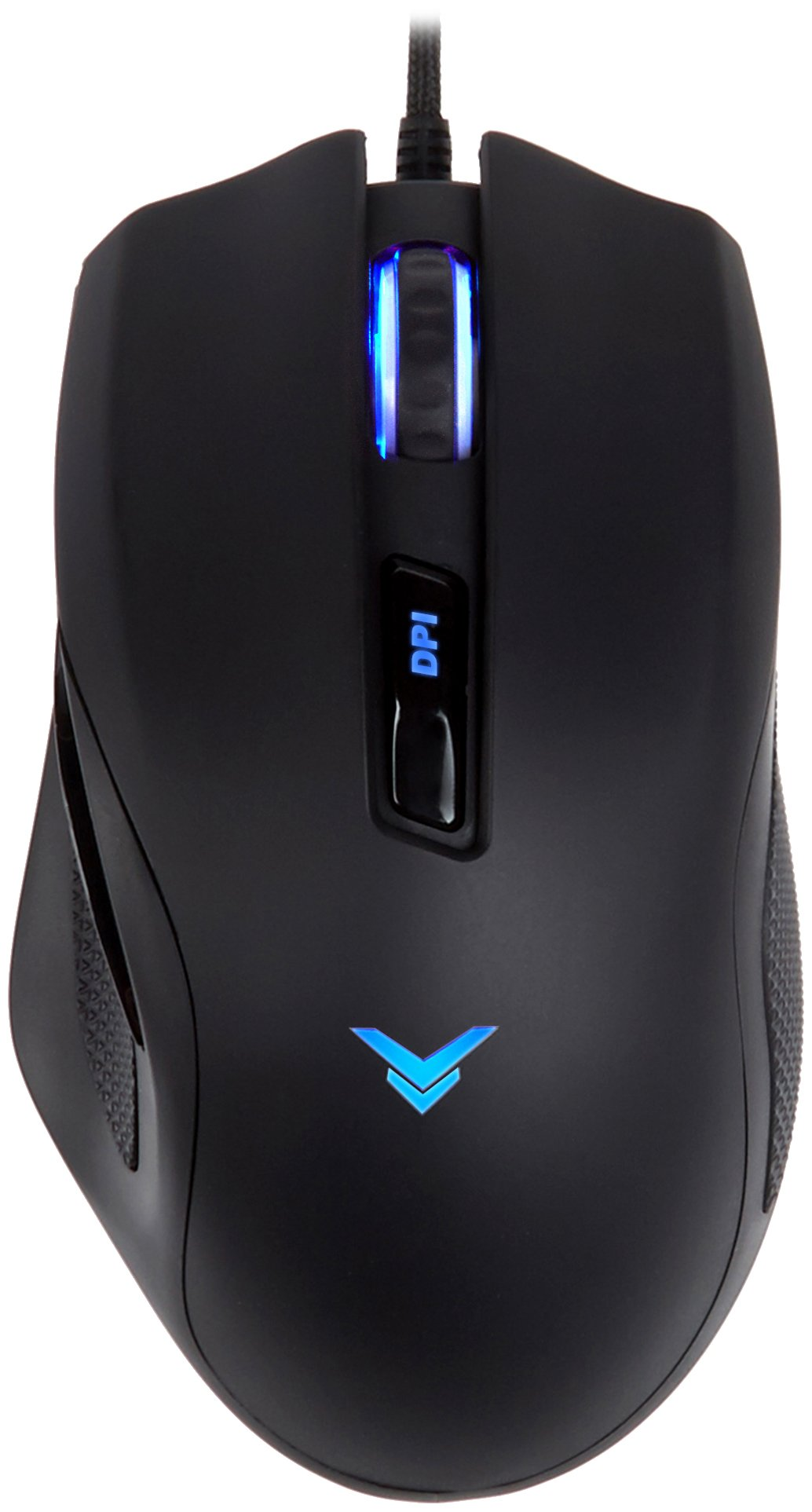 AmazonBasics Multi-Color Gaming Mouse - Programmable Macros, 3200 Adjustable DPI by AmazonBasics