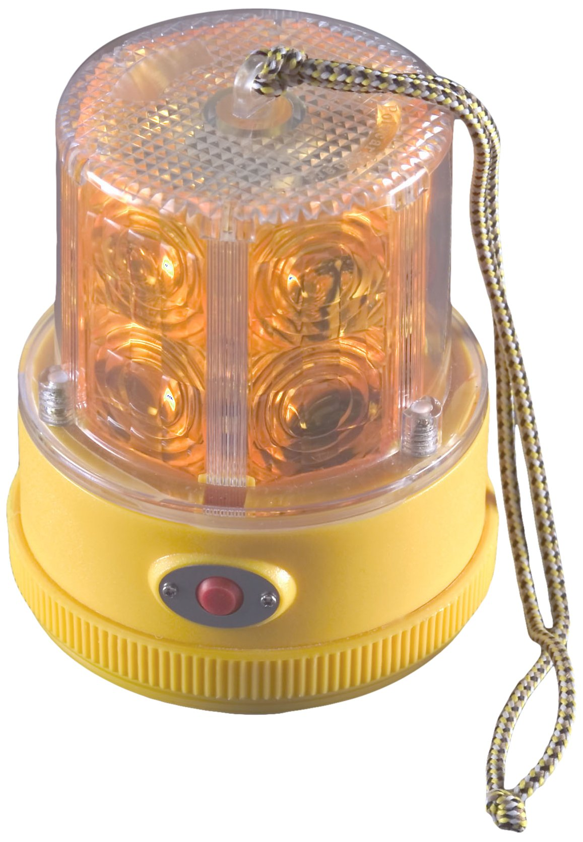 North American Signal PSLM2-A LED Personal Safety Warning Light with Magnetic Mount, Battery Operated, Amber by North American Signal