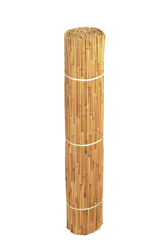 Schilfmatte Exklusiv 1,5 m x 3,0 m //Sichtschutz und Windschutz aus gesch/älten Schilfhalmen f/ür Garten,Terrasse und Balkon