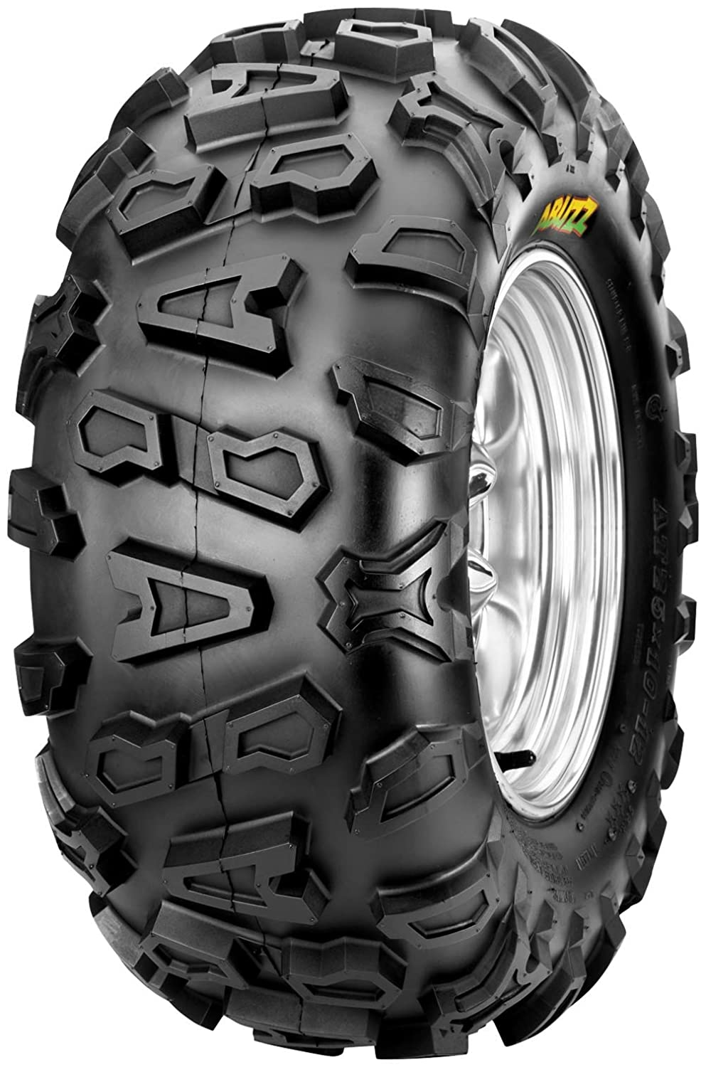 Maxxis Cheng Shin Abuzz CU02 Tire - Rear - 26x10x12 , Tire Size: 26x10x12, Tire Construction: Bias, Tire Application: Mud/Snow, Rim Size: 12, Position: Rear, Tire Ply: 6, Tire Type: ATV/UTV TM166756G0