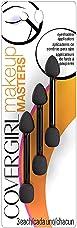CoverGirl Makeup Masters Eyeshadow Applicators 3 ea (Pack of 6)