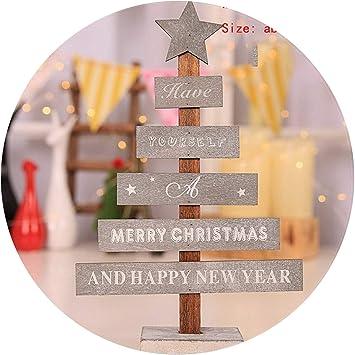 Árbol de Navidad 20 cm Año Decoración de la mesa Adornos Feliz Navidad Decoración Hogar Árboles de Navidad Mini Pequeño Pino 2,27,5 x 8 cm Camisetas NKJYS: Amazon.es: Salud y cuidado personal
