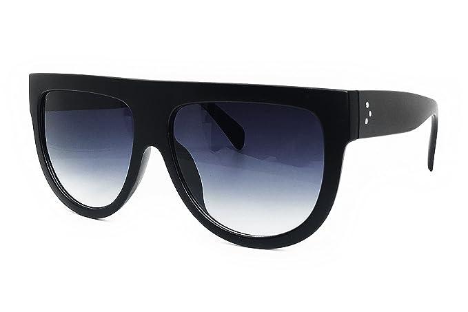dfc6153c0063 O2 Eyewear 6520 Oversize XL Mirror Tint Havana Shadow Style Designer Flat  Top Womens Mens Sunglasses