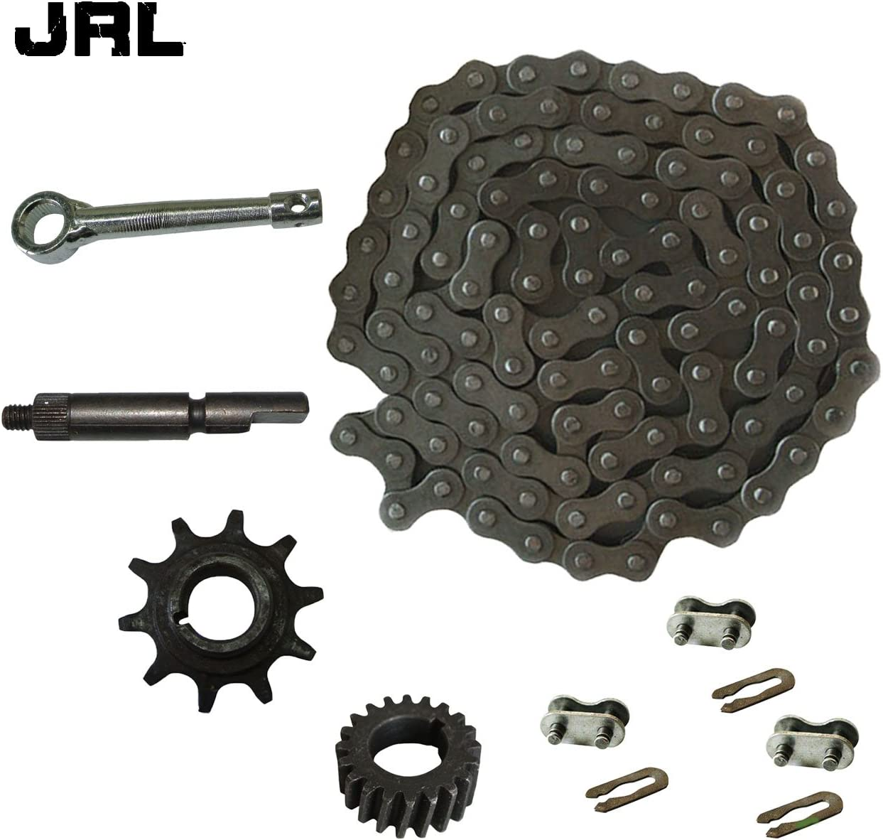 415 Chain/&Drive Sprocket/&3xChain Master Link For 49cc 66cc 80cc Motorized Bike
