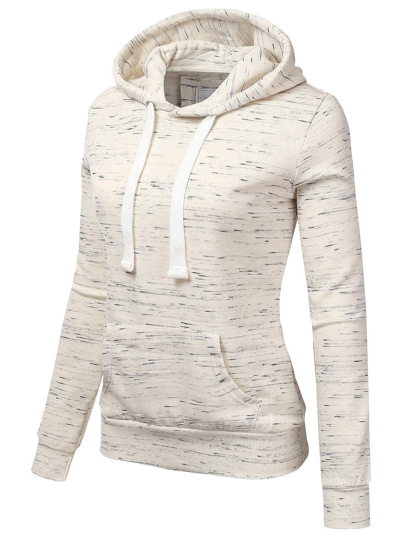 NINEXIS Womens Long Sleeve Fleece Pullover Hoodie Sweatshirts