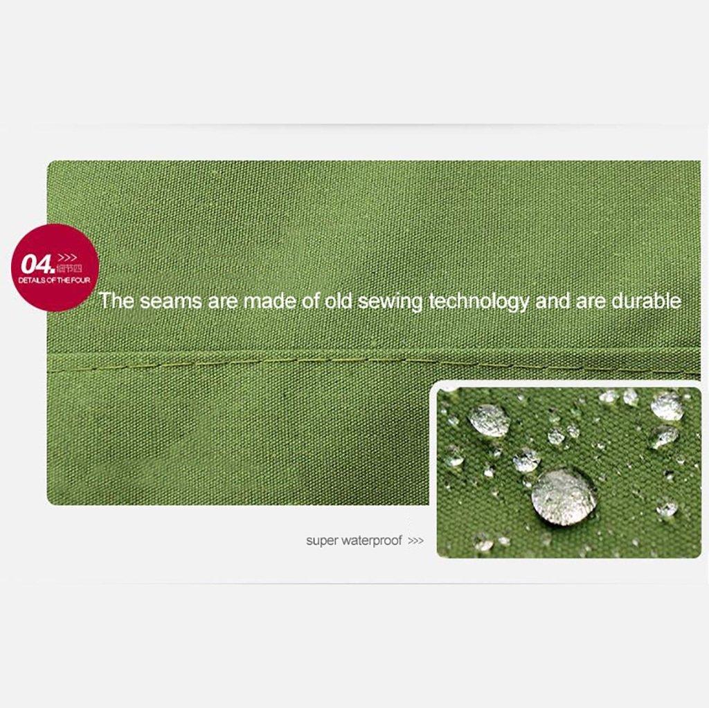 LQQGXL Gruesa Tela de Lona a Prueba de Agua Lona a Prueba de Lluvia Lona Agua de protección de Carga Impermeable paño, Verde Militar Lonas Impermeables (Color : 2m2m) daf33d