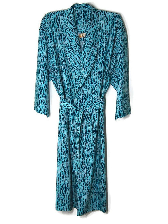 Hello Club Robes for Men Blue 4XL Sleepwear , Cotton