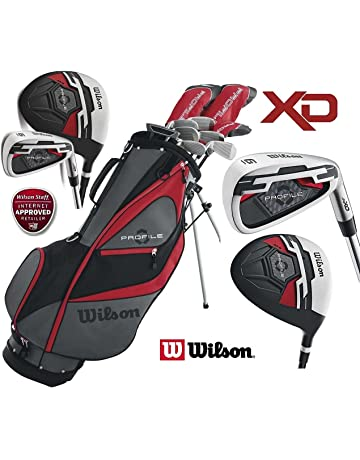 3c93159f3958 Wilson Mens New RIGHT HAND XD Profile Golf Set Steel Shafted Irons    Graphite Shafted Woods
