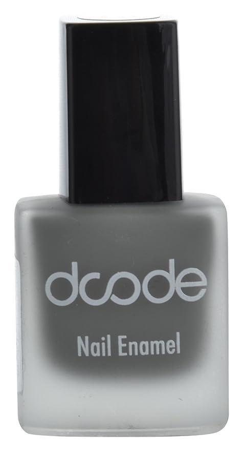 Buy dcode Nail Enamel, Smoke Grey Matte, 9 ml Online at Low Prices ...