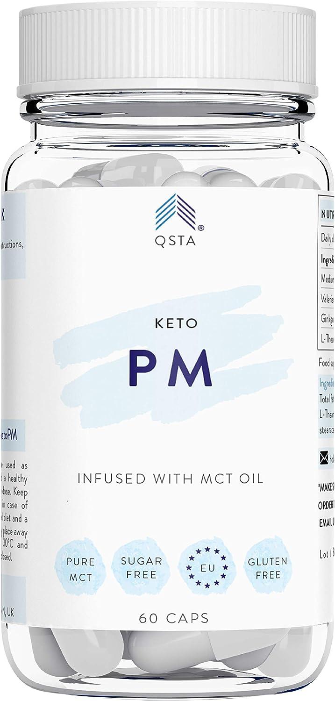 Keto Plus Actives PM (60 CAPS) - Quemagrasas potente para adelgazar y rapido, Quema grasas mientras duermes & Mejora tu sueño REM - Fat Burner Reductor, Kit Completo Dieta, PERSONALIZADO + MEDICOS: