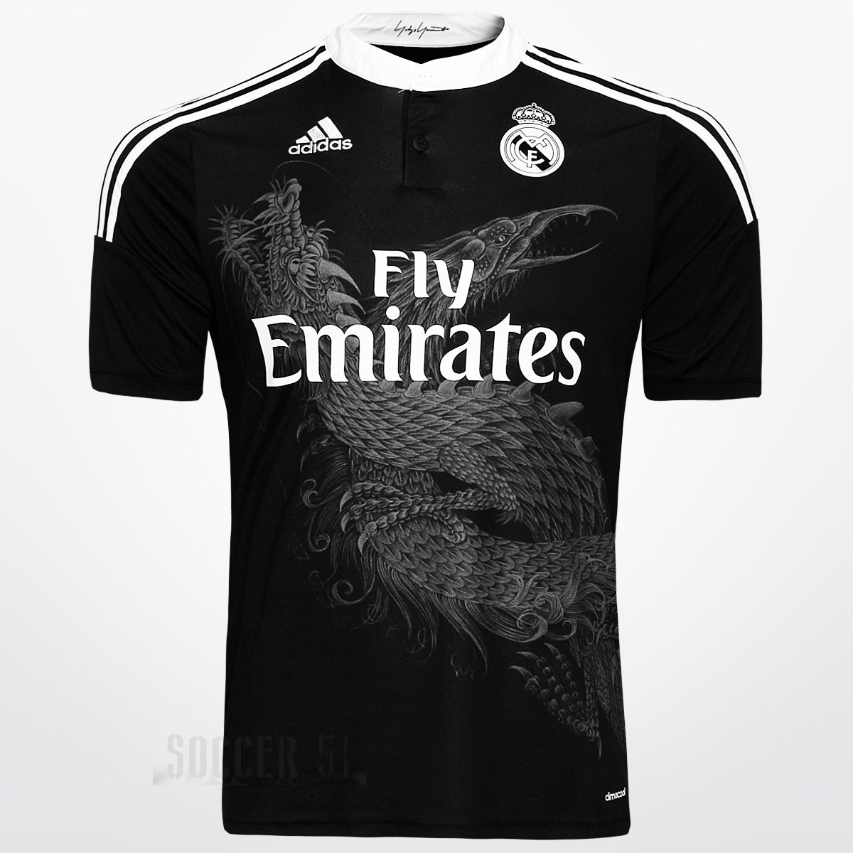 buy popular 582ea 40e46 Amazon.com : Real Madrid Black Dragon 2015 (12-13 yrs, Other ...