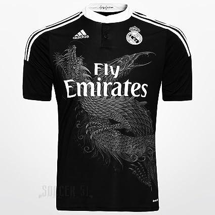 aa14efee3 Amazon.com : Real Madrid Black Dragon 2015 (10-11 yrs, Kroos 8 ...